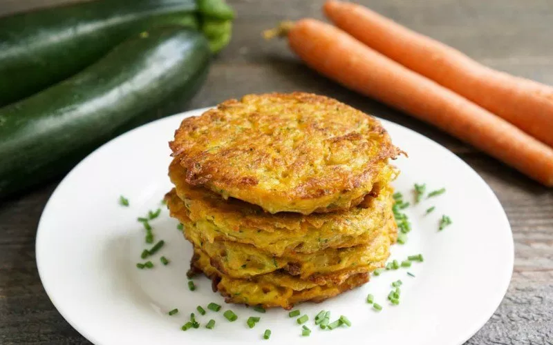 Carrot and Zucchini Patties Recipe