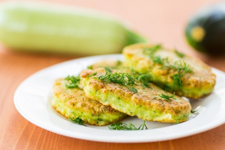 Broccoli and Potato Fritters with Dill
